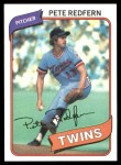 1980 Topps #403  Pete Redfern    Front Thumbnail