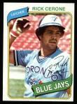 1980 Topps #591  Rick Cerone  Front Thumbnail