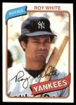 1980 Topps #648  Roy White  Front Thumbnail