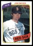 1980 Topps #576  Jim Dwyer  Front Thumbnail
