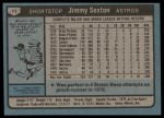 1980 Topps #11  Jimmy Sexton  Back Thumbnail