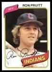 1980 Topps #13  Ron Pruitt  Front Thumbnail
