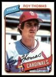 1980 Topps #397  Roy Thomas    Front Thumbnail