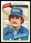 1980 Topps #399  Mike Proly    Front Thumbnail