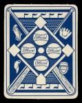 1951 Topps Blue Back #3  Richie Ashburn  Back Thumbnail
