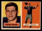 1957 Topps #31  George Blanda  Front Thumbnail