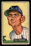 1951 Bowman #195  Paul Richards  Front Thumbnail