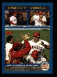 2003 Topps #349   AL Division Angels Front Thumbnail
