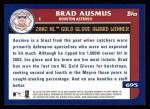 2003 Topps #695   -  Brad Ausmus Award Winners Back Thumbnail