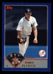 2003 Topps #497  Andy Pettitte  Front Thumbnail