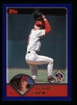 2003 Topps #12  Dennis Cook  Front Thumbnail