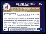 2003 Topps #661  Jeremy Guthrie  Back Thumbnail