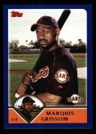 2003 Topps #526  Marquis Grissom  Front Thumbnail