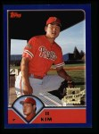 2003 Topps #296   -  Il Kim First Year Front Thumbnail