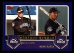 2003 Topps #327  Jack Cust / Rene Reyes  Front Thumbnail