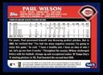 2003 Topps #565  Paul Wilson  Back Thumbnail