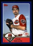 2003 Topps #565  Paul Wilson  Front Thumbnail