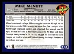 2003 Topps #314   -  Mike McNutt First Year Back Thumbnail