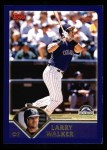 2003 Topps #140  Larry Walker  Front Thumbnail