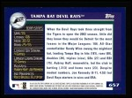2003 Topps #657   Tampa Bay Devil Rays Team Back Thumbnail