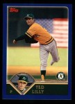 2003 Topps #429  Ted Lilly  Front Thumbnail