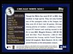 2003 Topps #636   Chicago White Sox Team Back Thumbnail