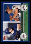 2003 Topps #683  Taggert Bozied / Xavier Nady  Front Thumbnail