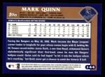 2003 Topps #144  Mark Quinn  Back Thumbnail