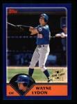 2003 Topps #297   -  Wayne Lydon First Year Front Thumbnail