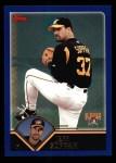2003 Topps #381  Jeff Suppan  Front Thumbnail