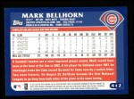 2003 Topps #412  Mark Bellhorn  Back Thumbnail