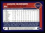 2003 Topps #168  Jason Marquis  Back Thumbnail