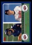 2003 Topps #680  Joe Mauer / Justin Morneau  Front Thumbnail