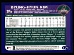 2003 Topps #171  Byung-Hyun Kim  Back Thumbnail