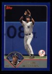 2003 Topps #120  Bernie Williams  Front Thumbnail