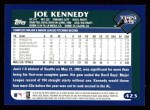 2003 Topps #423  Joe Kennedy  Back Thumbnail