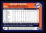 2003 Topps #486  Adam Eaton  Back Thumbnail