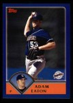 2003 Topps #486  Adam Eaton  Front Thumbnail