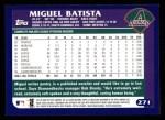 2003 Topps #271  Miguel Batista  Back Thumbnail