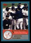 2003 Topps #335   -  Jason Giambi Season Highlights Front Thumbnail