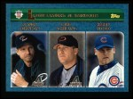 2003 Topps #348   NL Strikeout Leaders Front Thumbnail