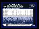 2003 Topps #224  Ryan Rupe  Back Thumbnail