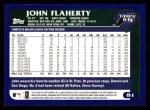 2003 Topps #81  John Flaherty  Back Thumbnail