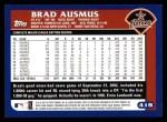 2003 Topps #418  Brad Ausmus  Back Thumbnail