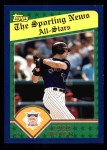 2003 Topps #709   -  Todd Helton All-Star Front Thumbnail
