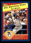 2003 Topps #357   -  Alfonso Soriano All-Star Front Thumbnail