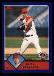 2003 Topps #166  Troy Percival  Front Thumbnail