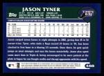 2003 Topps #488  Jason Tyner  Back Thumbnail