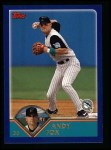 2003 Topps #417  Andy Fox  Front Thumbnail