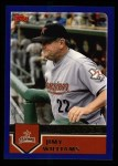 2003 Topps #274  Jimy Williams  Front Thumbnail